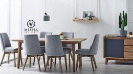 Set kursi makan miller terbaru 260x146 - Set Kursi Makan Miller