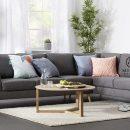 sofa sudut 130x130 - Set Sofa Sudut Asta Scandi
