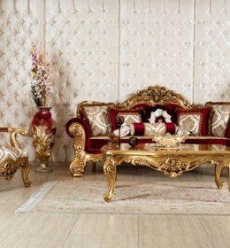 set sofa tamu klasik roma
