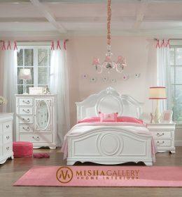 set tempat tidur anak jessica