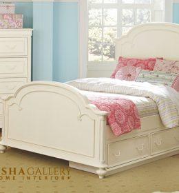 Set Tempat tidur anak carlotte