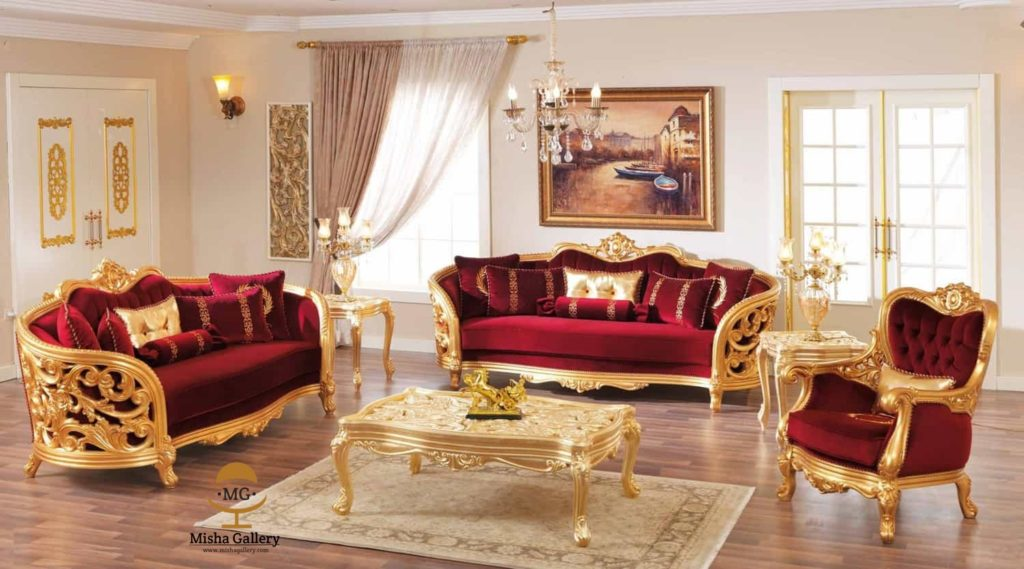 sofa tamu klasik monique victorian